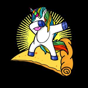 Einhorn Pizza Dab Unicorn