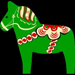 Grünes Talpferd
