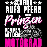 Echte Prinzen kommen mit dem Motorrad