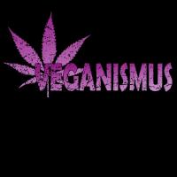 VEGANISMUS VEGAN WEED DOPE SWEET NATURE FAN SHIRT