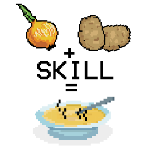 Pixel Suppe kochen