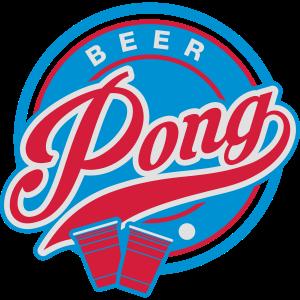 Beer Pong 70s Stil