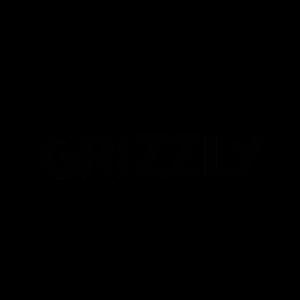 Grizzly Bär Natur Wildnis Logo Krallen Schriftzug