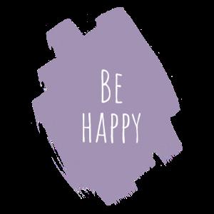 be happy pastel aqurell