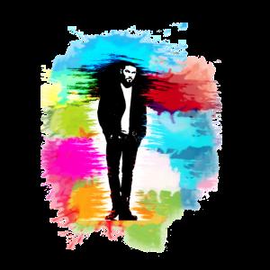 Watercolor Man