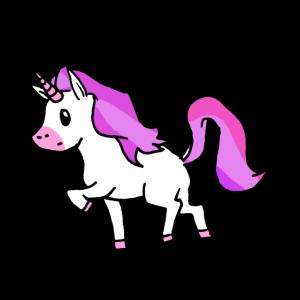 Pferd mit Horn