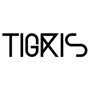 Tigris Vector Text Black