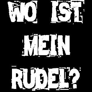 WO IST MEIN RUDEL?