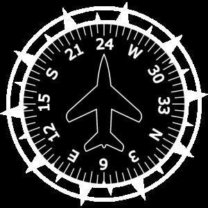 Flugzeug Kompass Pilot
