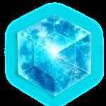 Hypercube 4D - TESSERACT , digital, Symbol - Dimensional Shift, Metatrons Cube,