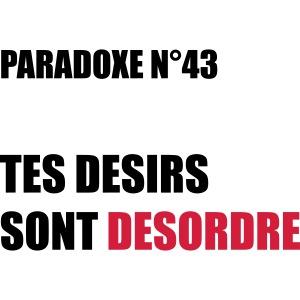 PARADOXE DESIRS