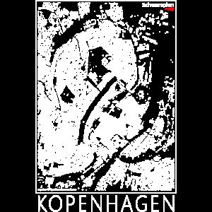Schwarzplan Kopenhagen Figureground Diagram