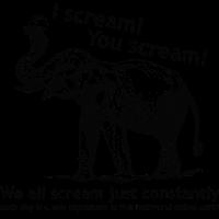 I scream! You scream!