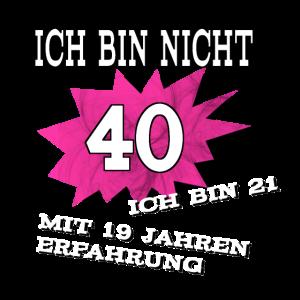 40 Geburtstag Spruch