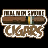 Zigarre echter Mann