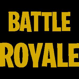 Battle Royale Gaming Nerd Shirt yellow