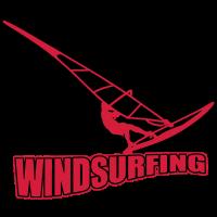 Windsurfing Schriftzug