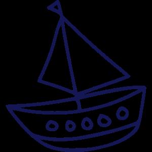 CARTOON SHIP - DRAWING