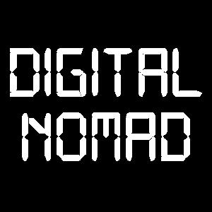 Digitaler Nomade die Welt ist dein Büro