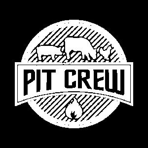 Lustiges Grill und BBQ Shirt Pit Crew
