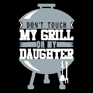 Lustiges Grill und BBQ Shirt Mein Grill Tochter