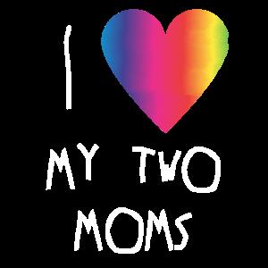 LGBT Kind Geschenk - Queer Eltern - lebische Mama