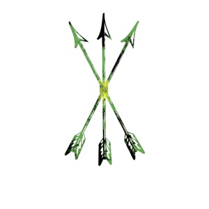 Scoia tael emblem green yellow black