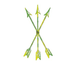 Scoia tael emblem green yellow
