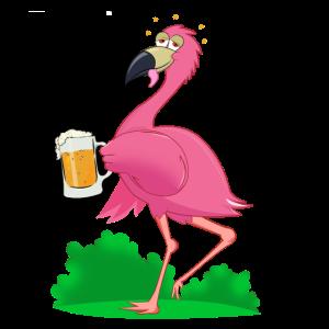 Der betrunkene Flamingo