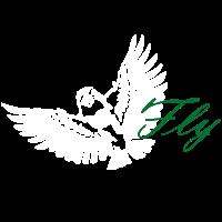 fliegender Vogel chiep