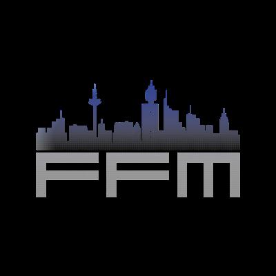 FFM Frankfurt Skyline - Tolles Bild von der Frankfurter Skyline. FFM Design für T-Shirts und Pullover. - FFM,Frankfurt am Main,Frankfurt Skyline,Frankfurt Germany,Frankfurt