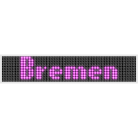 Bremen LED Display Pink