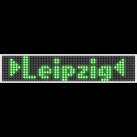 Leipzig LED Display Gruen