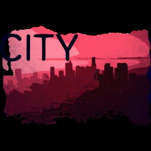City Stadt California Kalifornien Sommer Motiv