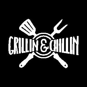Lustiges Grill und BBQ Shirt Grillen und Chillen
