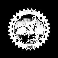 Downhill Biker (dunkler Hintergrund)