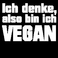 Ich denke, also bin ich vegan