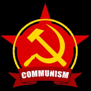 COMMUNISM Rote Armee Stern Banner Abzeichen