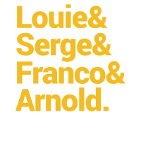 Louie Serge and Arnold