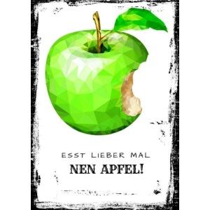Esst lieber mal nen Apfel!