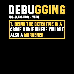 Debugging Programmieren Programmierer Geschenk