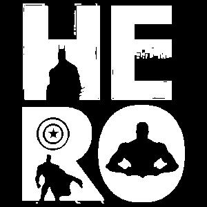 HERO / Superhelden Motiv
