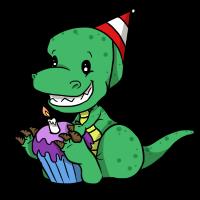 Dinosaurier Geburtstagskind Sohn Geschenk Shirt