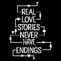 Echte Liebesgeschichten haben kein Ende