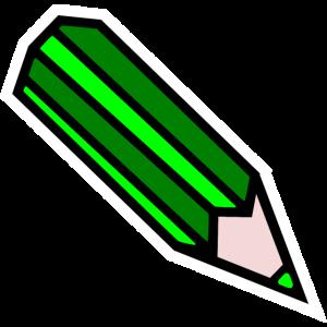 Stift grün Schule Bleistift