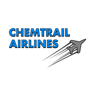 Chemtrail Airlines Flugzeug