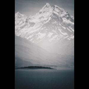 Snow Mountain / Analog Fotografie