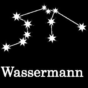 Wassermann Aquarius Sternzeichen Sternbild Nacht