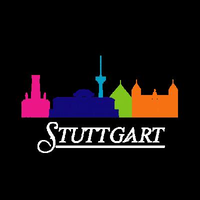 Stuttgart - Stuttgart - Stuttgart Stadt,Stuttgart Vorwahl,Stuttgart Deutschland,Stuttgart,Stuttgart Skyline,Geschenk,Ich liebe Stuttgart,Stuttgart Fußball