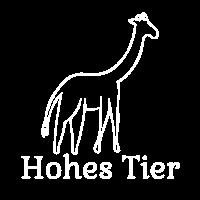 Hohes Tier Giraffe